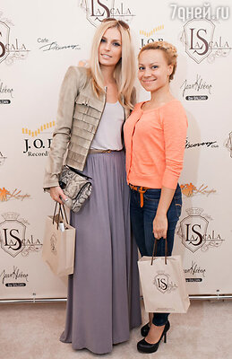 Саша Савельева и радио-DJ Алиса Селезнева