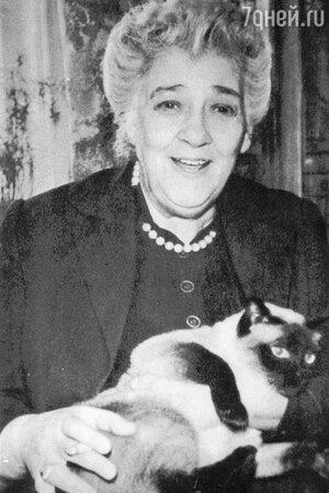 В юности ольге Аросевой помогала Фаина Раневская
