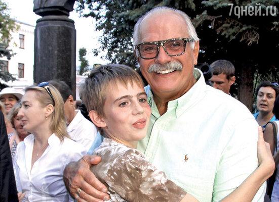 Никита Михалков и Тимофей Андреев