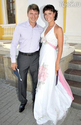 Алексей Ягудин и Валерия Ланская
