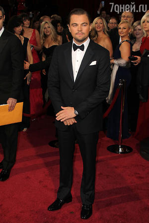 Леонардо Ди Каприо на церемонии «Оскар-2014»