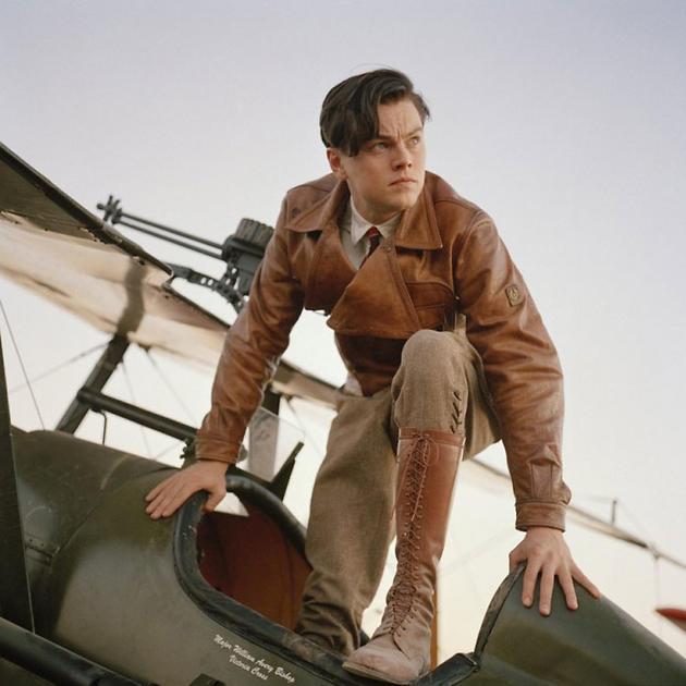 Леонардо Ди Каприо в фильме «Авиатор»,  2004 год