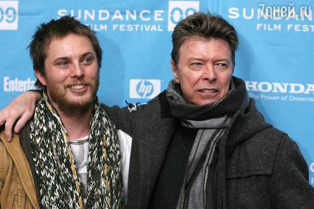 Дэвид Боуи с сыном Дунканом
