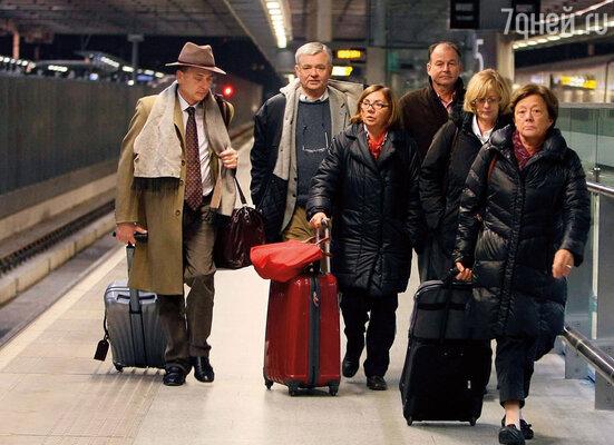 Семейство де Ведрин прибыло на оксфордский вокзал всего лишь с несколькими чемоданами. (Оксфорд, 2009 г.)