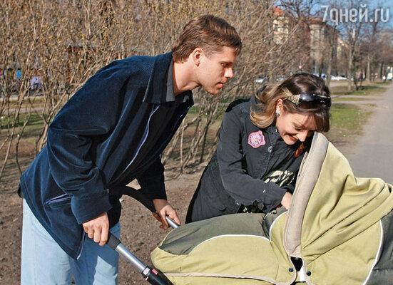 Сын Никита родился на неделю раньше срока, в Международный женский день 8 Марта
