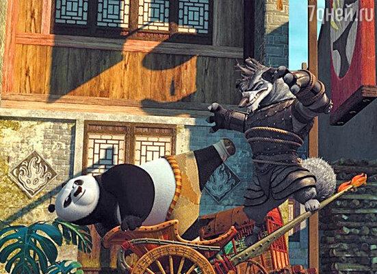 Кадр фильма «Кун фу панда 2»