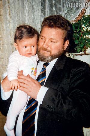 Михаил Евдокимов с дочерью