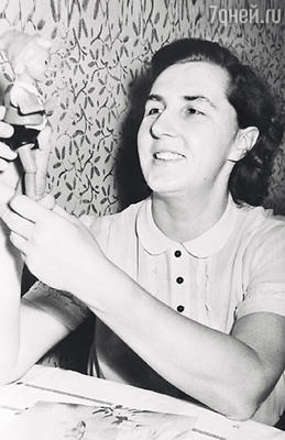 Мама Валентина Семеновна. 1957 г.