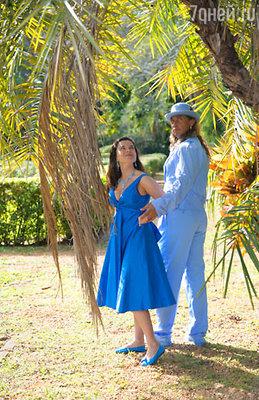 Наташа с мужем Сергеем с Майами