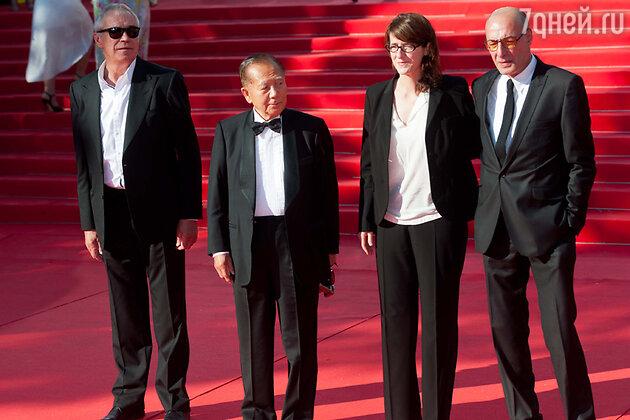 Члены жюри 35 Московского международного Кинофестиваля