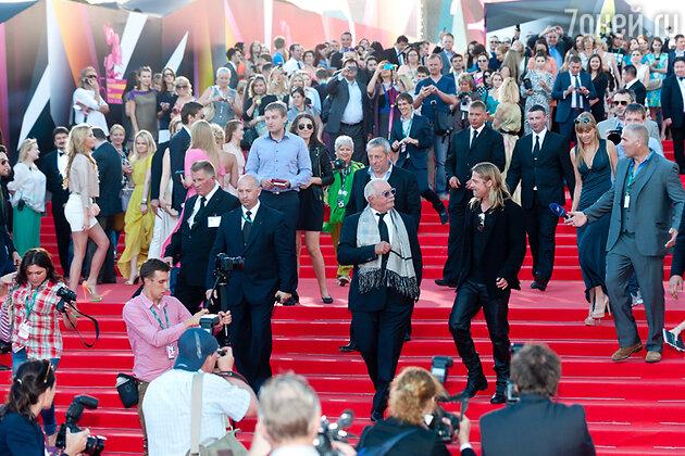 Церемония открытия 35-го Международного Московского кинофестиваля, 2013