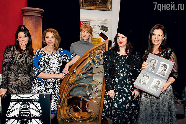 Светлана Астахова, Екатерина Рождественская, Светлана Журова, Тамара Гвердцители и Алиса Толкачева