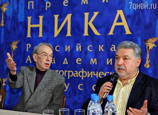 Алексей Баталов и Юлий Гусман