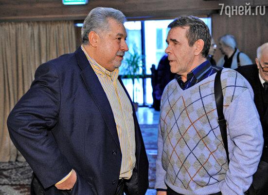 Юлий Гусман и Алексей Булдаков