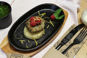 Рисбургер с мятным песто: рецепт от ведущей Елены Усановой
