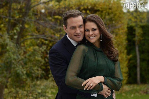 Принцесса Мадлен и Крис О'Нил