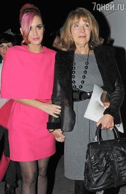 Кэти Перри с мамой