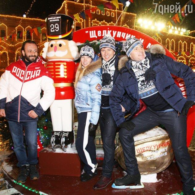 Илья Авербух, Татьяна Тотьмянина, Алексей Ягудин, Максим Маринин