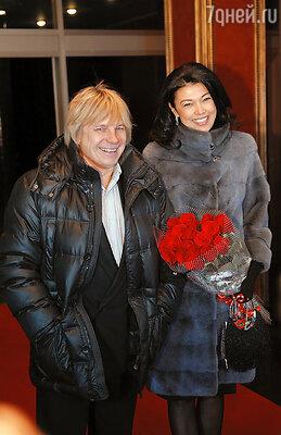 Виктор Салтыков с супругой