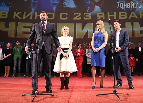 Антон Сихарулидзе, Елена Бережная, Светлана Журова, Николай Круглов