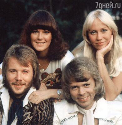 Группа «ABBA» (1975 год)