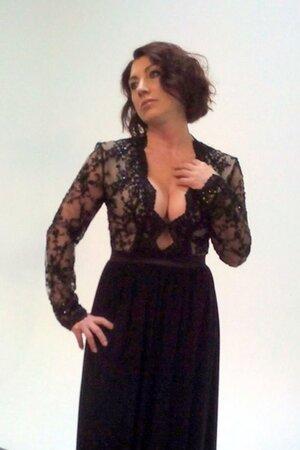 Роза Сябитова на съемках для проекта «Ясные»