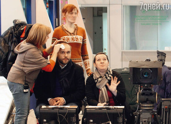 С режиссером Гузель Киреевой Максим уже работал на сериале «Глухарь»