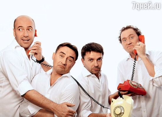 «Квартет И» (слева направо): Ростислав Хаит, Камиль Ларин, Леонид Барац и Александр Демидов. 2011 г.