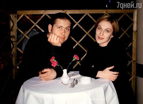 С первой женой Светланой Шварц