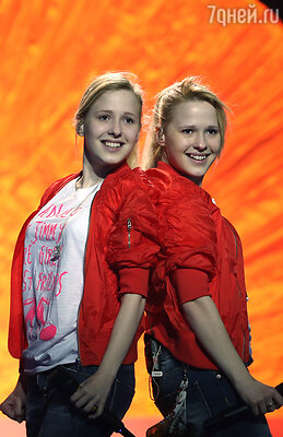 Сестры Толмачевы заняли 7 место с композицией «Shine»