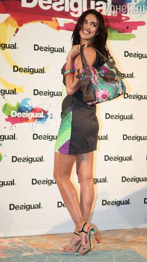 Ирина Шейк (Irina Shayk) на презентации коллекции испанского бренда Desigual