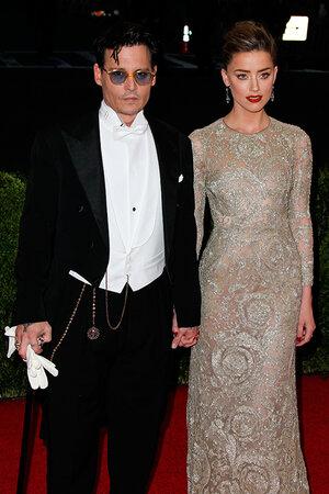 Джонни Депп и его невеста Эмбер Херд
