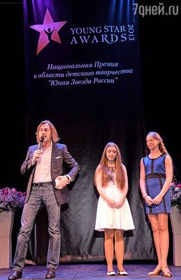 Никас Сафронов с номинантами