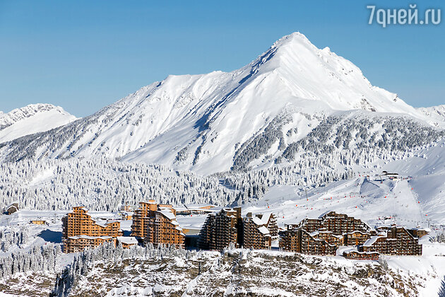 Авориаз, Альпы