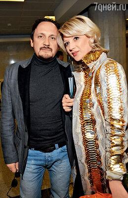 С женой Инной на юбилее радиостанции. 2010 г.