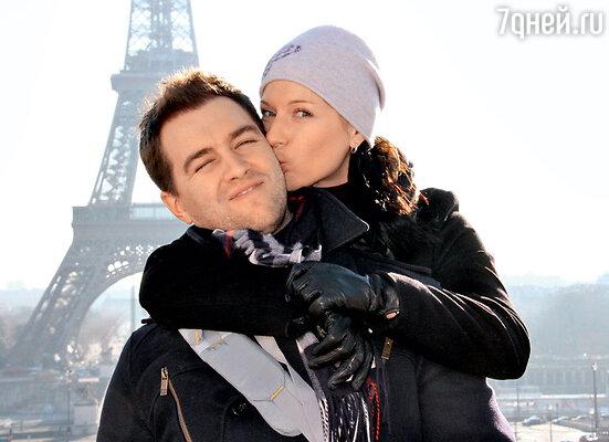 С мужем Андреем Карповым