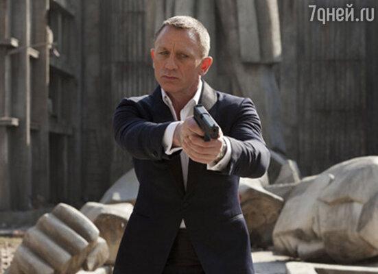 Дэниел Крейг стал шестым Бондом (кадр из нового фильма «007: Координаты «Скайфолл»)