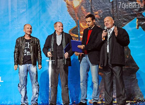 Игорь Панин, Виктор Вержбицкий, Павел Санаев и Николай Сысоев
