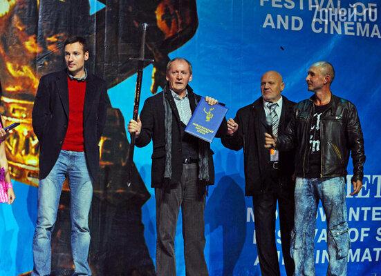 Павел Санаев, Виктор Вержбицкий, Николай Сысоев и Игорь Панин