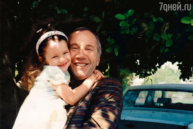 Савелий Крамаров с дочерью