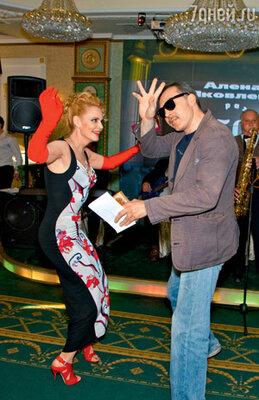 Сергей Чонишвили пригласил Алену на танго
