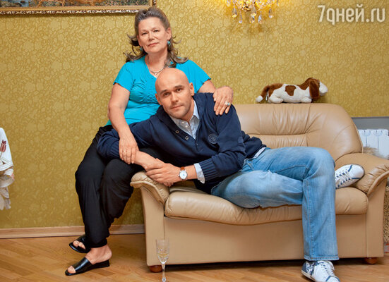 С мамой Галиной Викторовной