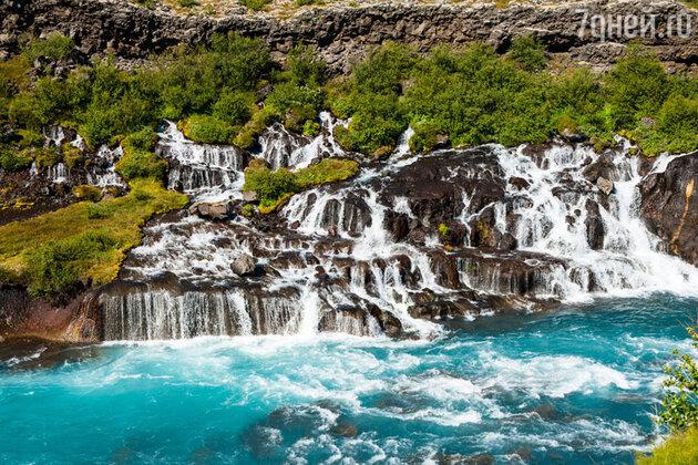 Водопады в Исландии