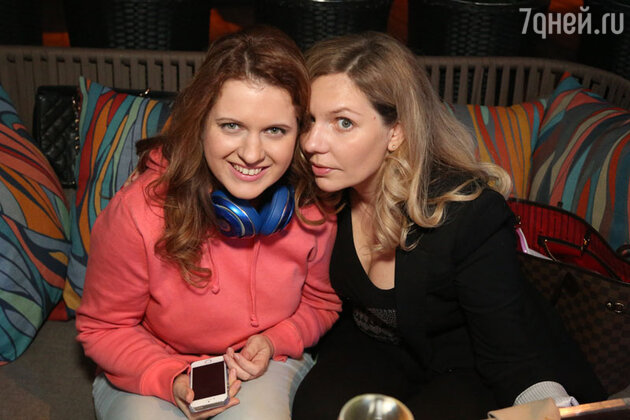 Анастасия Денисова и Ольга Френкель