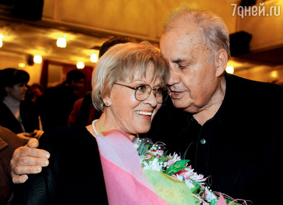 С Эльдаром Рязановым. 2009 г.