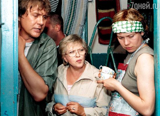 Фильм «Женская логика-4». С Варварой Владимировой и Александром Блоком. 2004 г.