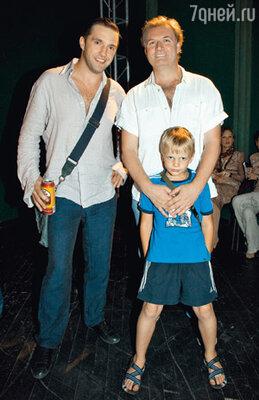 Три Владимира: Вдовиченков, Симонов и его сын