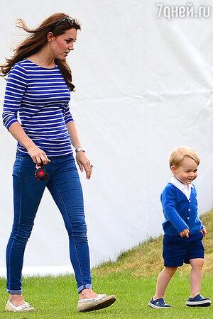 Кейт Миддлтон с сыном