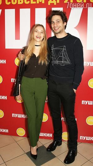 Светлана Устинова и Александр Молочников