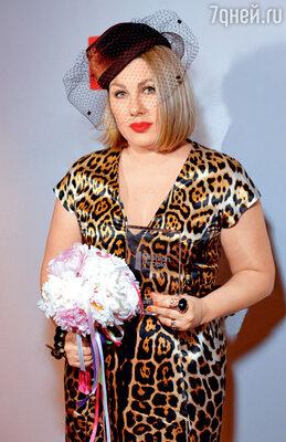 Ева Польна на вручении модной премии. 2012 г.
